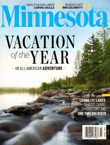Minnesota Monthly Cover - 7/1/2015