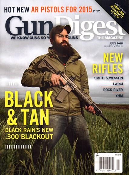 Gun Digest Cover - 7/1/2015