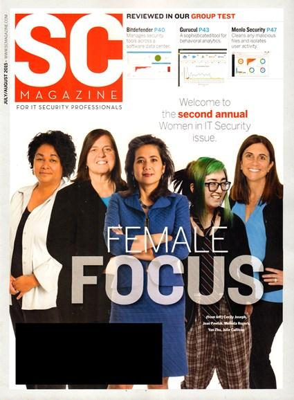 SC Magazine - U.S. edition Cover - 7/1/2015
