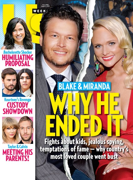 Us Weekly Cover - 8/3/2015