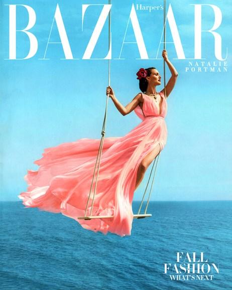 Harper's Bazaar Cover - 8/1/2015