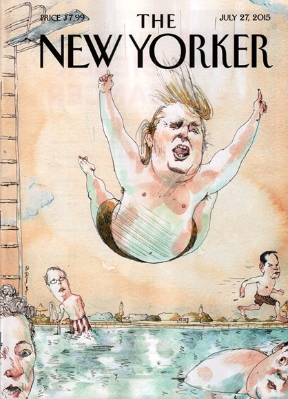 The New Yorker Cover - 7/27/2015