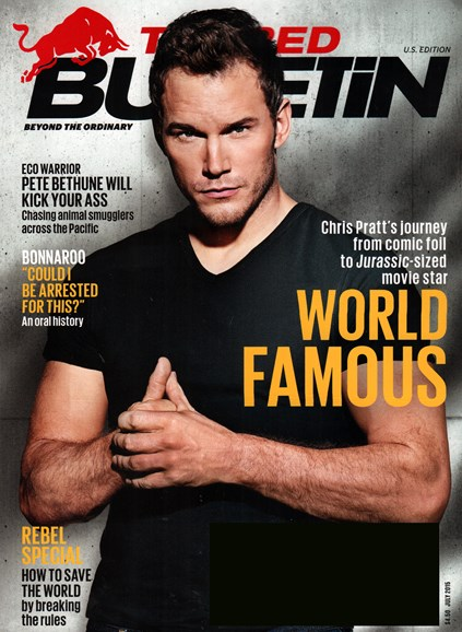 The Red Bulletin Cover - 7/1/2015