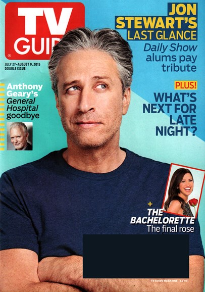 TV Guide Cover - 7/27/2015