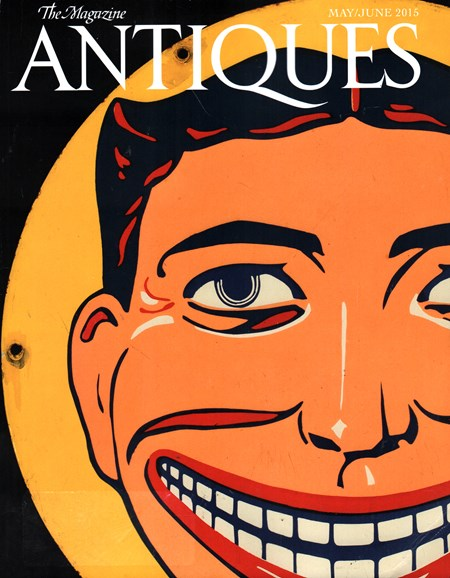 The Magazine Antiques Cover - 5/1/2015