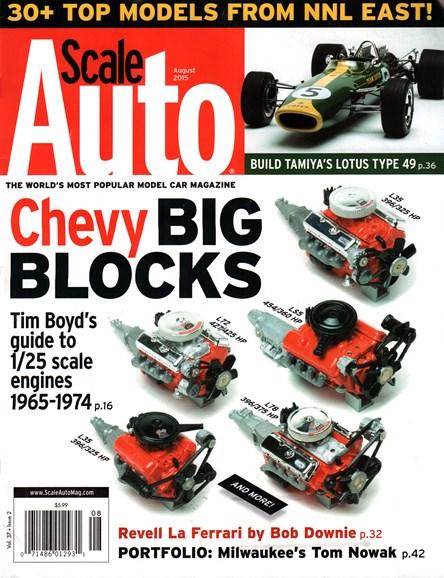 Scale Auto Magazine Cover - 8/1/2015