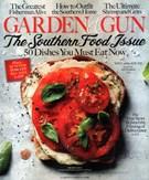 Garden & Gun Magazine 8/1/2015