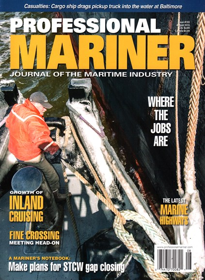 Professional Mariner Cover - 8/1/2015