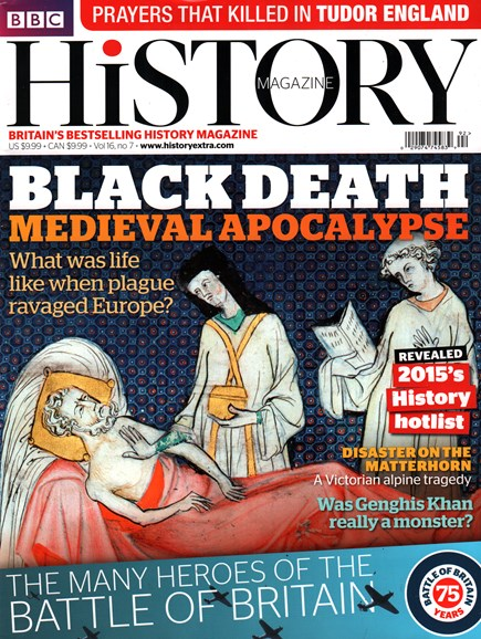 BBC History Cover - 7/1/2015