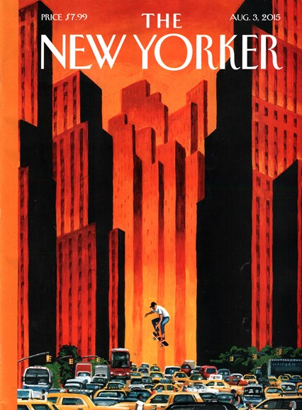 The New Yorker Cover - 8/3/2015