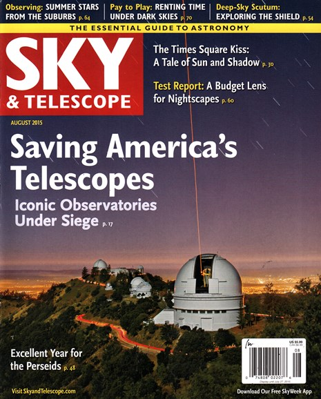Sky & Telescope Cover - 8/1/2015