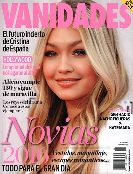 Vanidades Cover - 8/1/2015