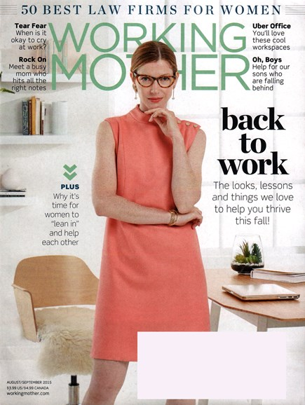Working Mother Cover - 8/1/2015
