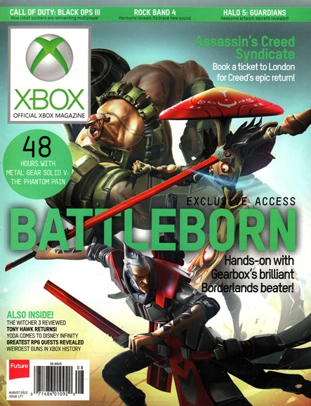 Official Xbox Magazine Cover - 8/1/2015