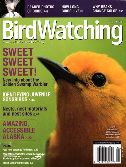 Bird Watching Cover - 8/1/2015