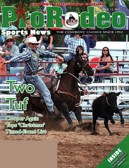 Pro Rodeo Sports News Cover - 7/17/2015
