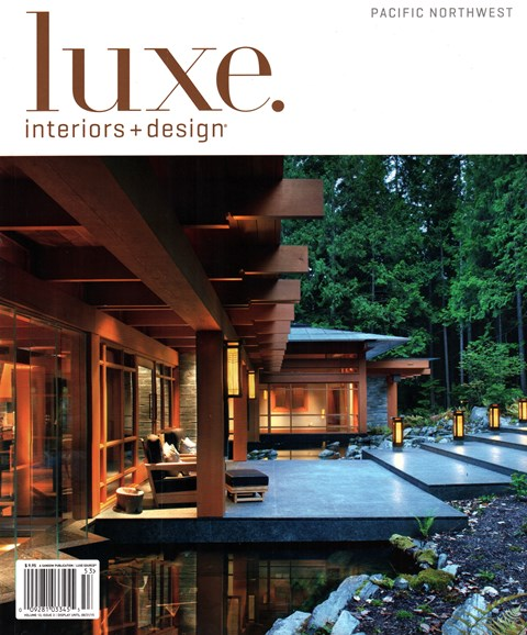 Luxe Interiors & Design Cover - 6/1/2015