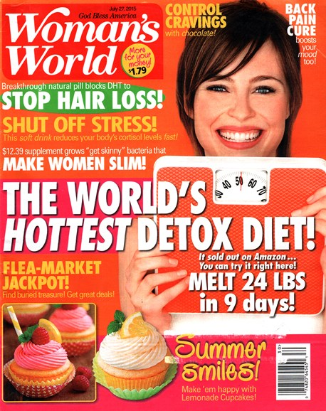 Woman's World Cover - 7/27/2015