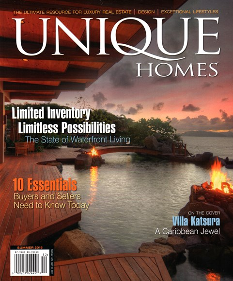 Unique Homes Cover - 6/1/2015