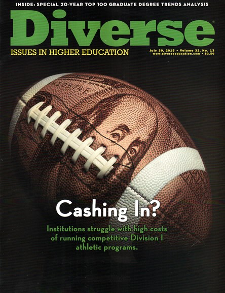 Diverse: Issues In Higher Education Cover - 7/30/2015