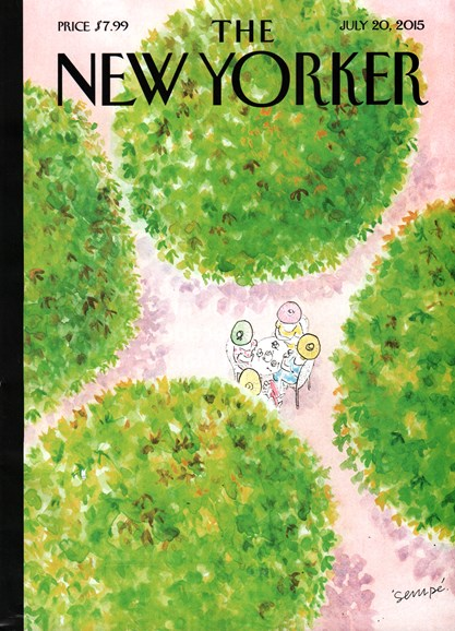 The New Yorker Cover - 7/20/2015