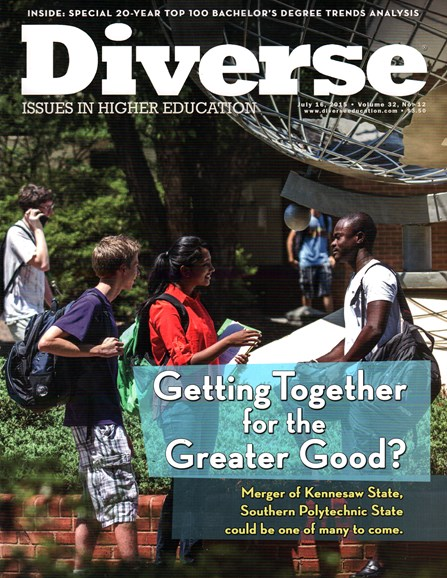 Diverse: Issues In Higher Education Cover - 7/16/2015