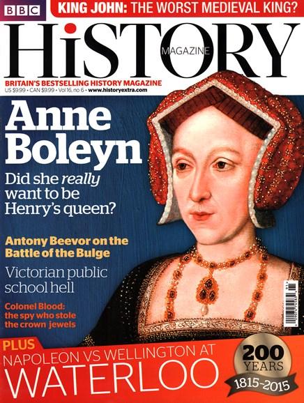 BBC History Cover - 6/1/2015
