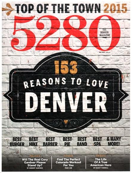 5280 Magazine Cover - 7/1/2015
