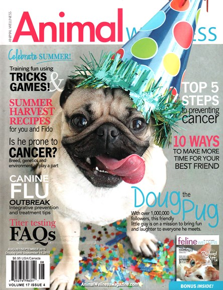 Animal Wellness Cover - 8/1/2015