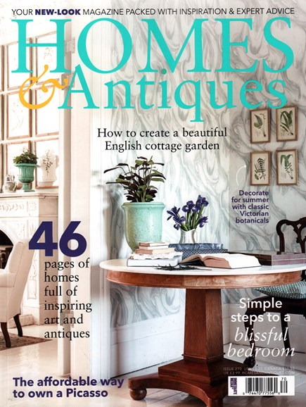 Homes & Antiques Cover - 7/1/2015
