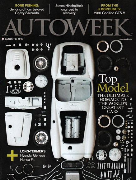 Autoweek Cover - 8/3/2015