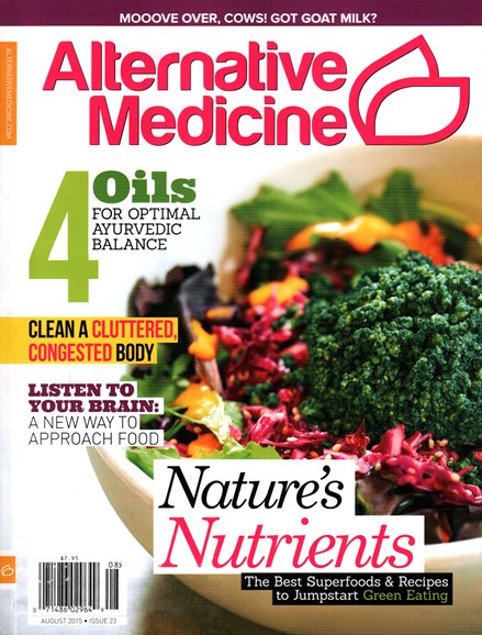 Alternative Medicine Cover - 8/1/2015