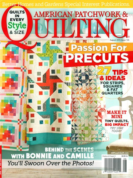 American Patchwork & Quilting Cover - 8/1/2015