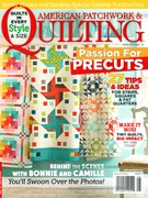 American Patchwork & Quilting Magazine 8/1/2015