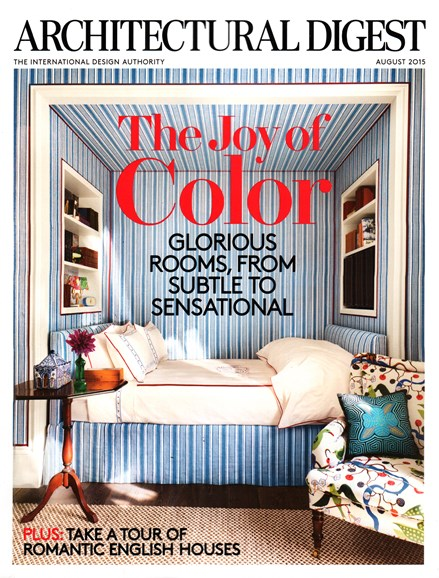 Architectural Digest Cover - 8/1/2015