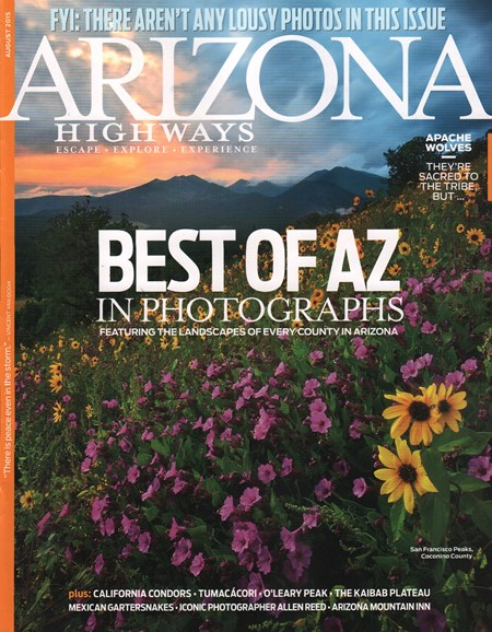 Arizona Highways Cover - 8/1/2015