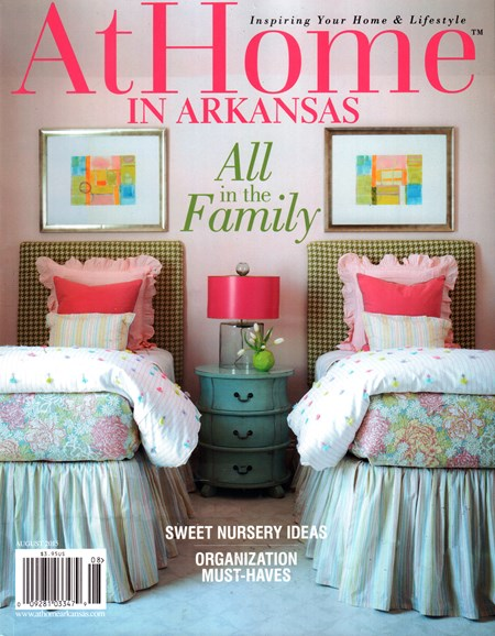 At Home In Arkansas Cover - 8/1/2015
