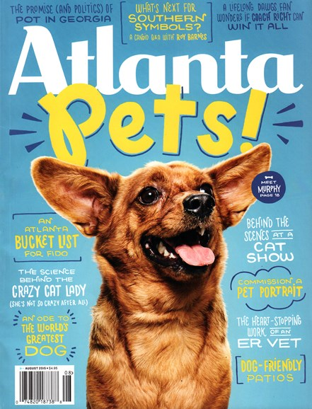 Atlanta Magazine Cover - 8/1/2015