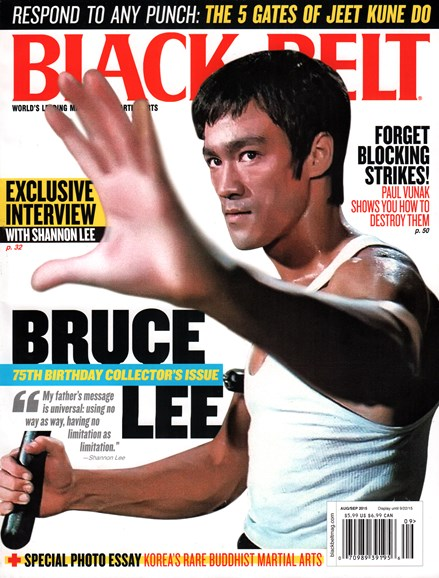 Black Belt Magazine Cover - 8/1/2015