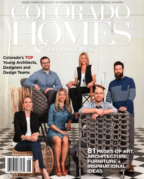 Colorado Homes & Lifestyles Cover - 8/1/2015