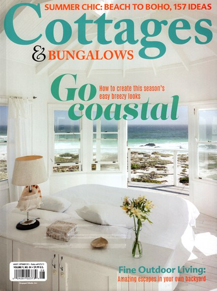 Cottages & Bungalows Cover - 8/1/2015