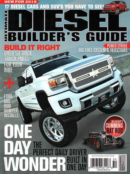 Ultimate Diesel Builder's Guide Cover - 8/1/2015