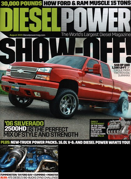 Diesel Power Cover - 8/1/2015