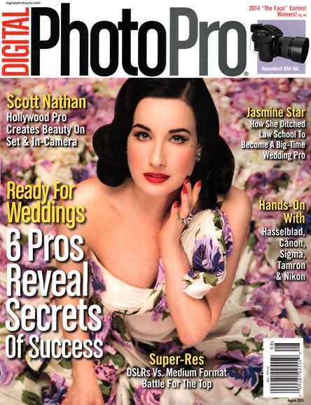 Digital Photo Pro Cover - 8/1/2015