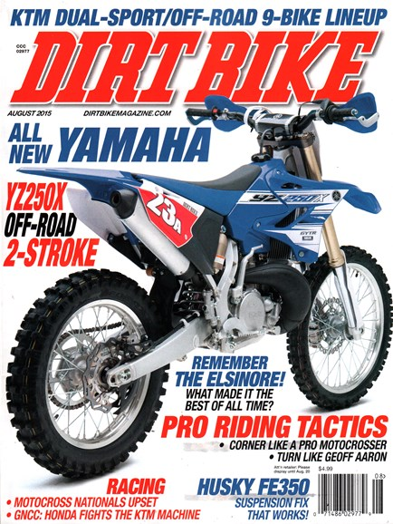 Dirt Bike Cover - 8/1/2015