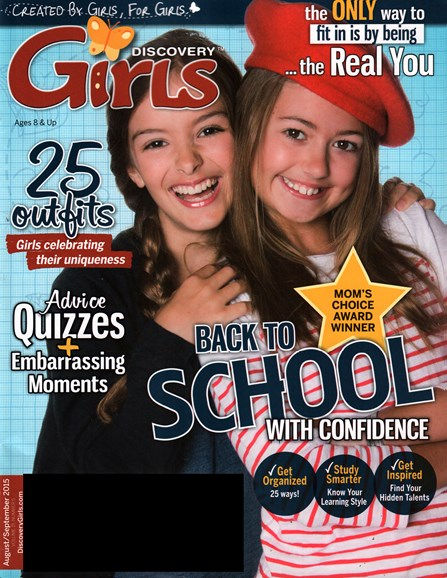 Discovery Girls Cover - 8/1/2015