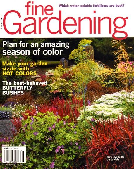 Fine Gardening Cover - 8/1/2015