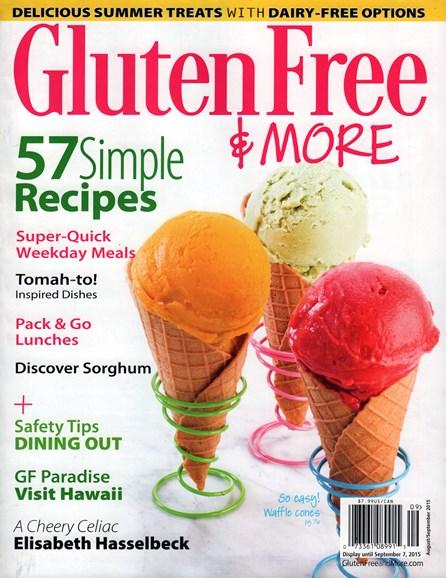 Gluten Free & More Cover - 8/1/2015