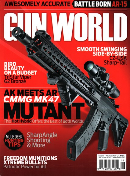 Gun World Cover - 8/1/2015