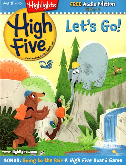 Highlights High Five Cover - 8/1/2015